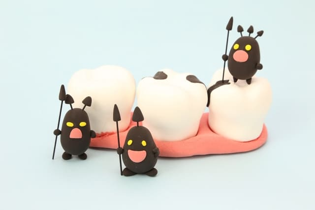 千葉県 市川市 八幡 本八幡駅前ミツル歯科 見えない虫歯の存在