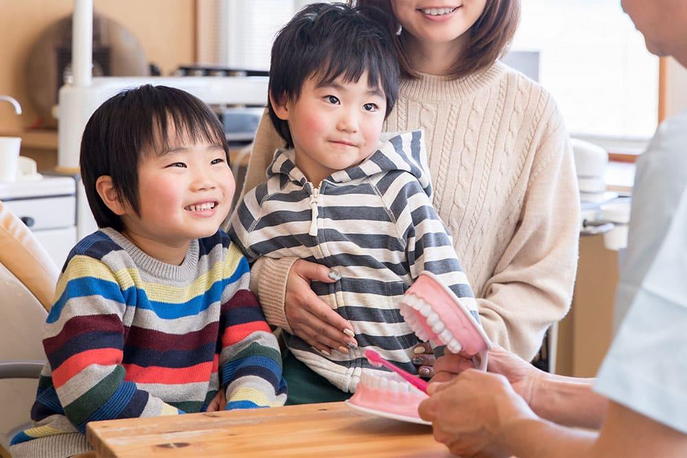 千葉県 市川市 八幡 本八幡駅前ミツル歯科 お子さまが治療を嫌がらないために