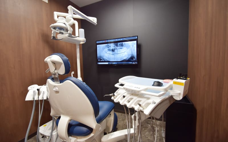 千葉県 市川市 八幡 本八幡駅前ミツル歯科 診療室