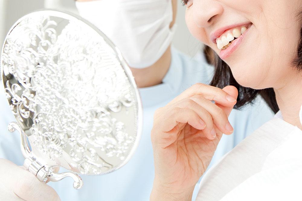 クリスタルミツル歯科 PMTC 歯の状態のチェック