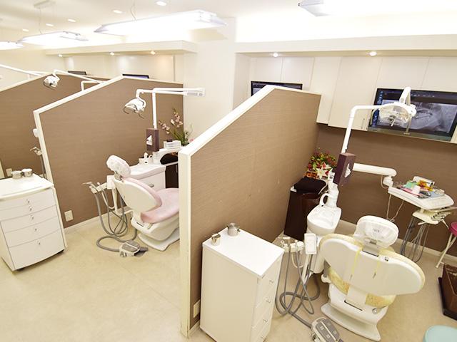 クリスタルミツル歯科 診察室