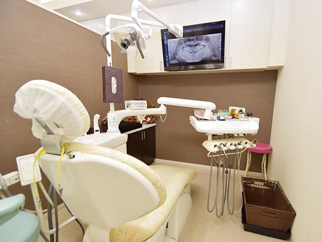 クリスタルミツル歯科 ユニット